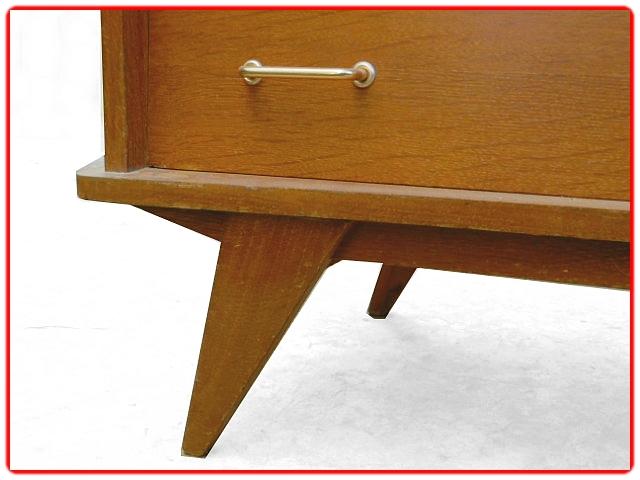 Commode vintage 1960 bois doré