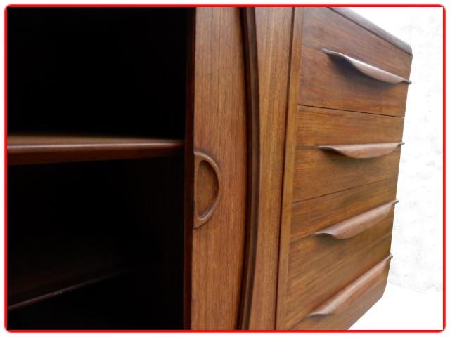 Enfilade 8 tiroirs J. Andersen