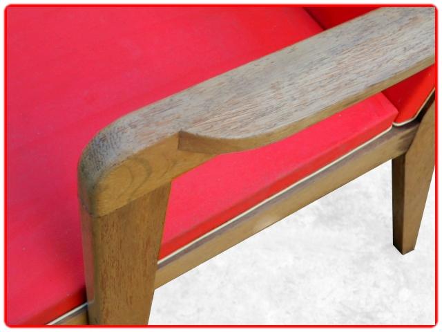 2 fauteuils vintage design 1950