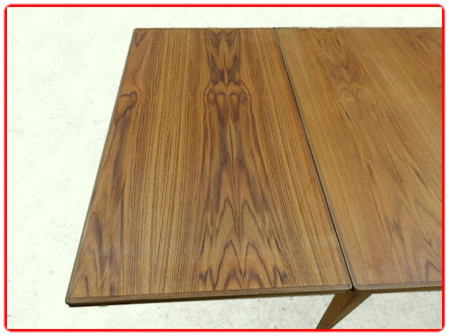 Table scandinave vintage teck 1960
