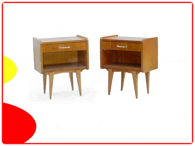 Tables de chevet vintage 1960