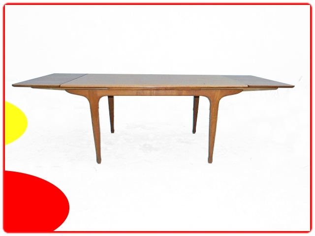 Table teck Meuble tv Paris vintage scandinave 1960