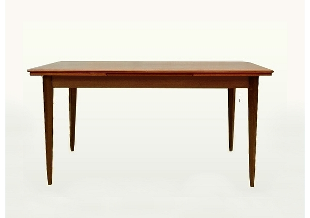 Table de repas extensible vintage scandinave 1960