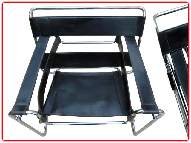 Paire de fauteuils Marcel Breuer Wassily Gassina