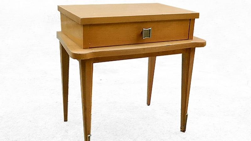 Table de chevet vintage 1950
