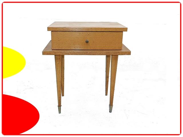 Table de chevet vintage 1960