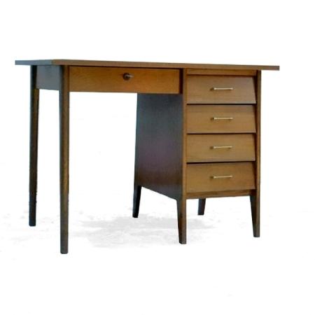 Bureau vintage 1970 design atypique