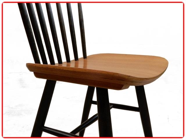 4 chaises THONET vintage scandinave1960