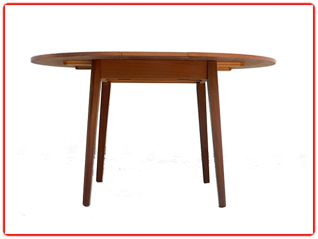 Table salle à manger vintage scandinave