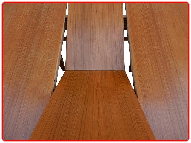 Table de salle à manger extensible scandinave