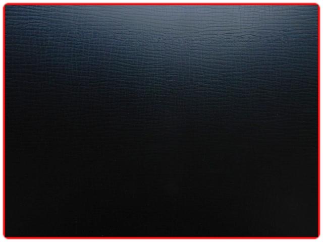 Fauteuil scandinave teck skaï noir