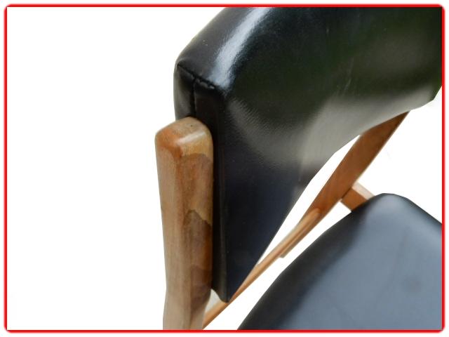 Chaises en teck vintage scandinave
