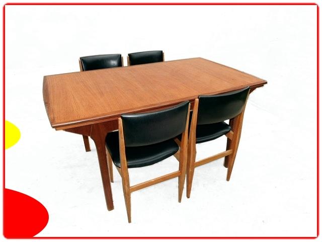 Table et chaises d'occasion teck scandinave