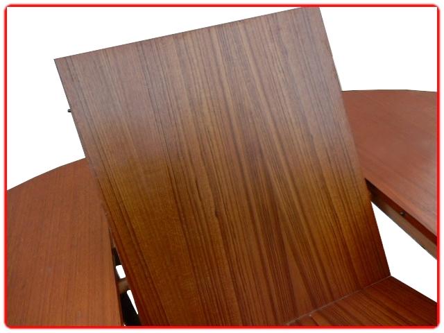 Table à manger extensible vintage 1970