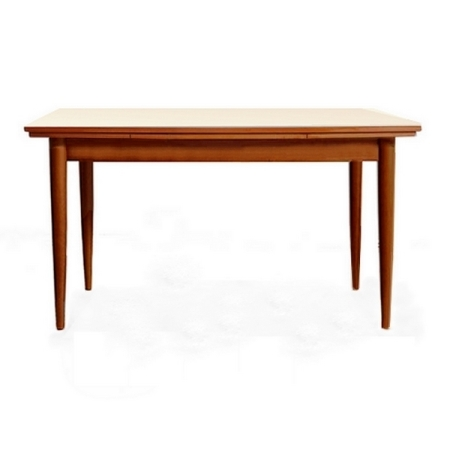 Table de repas extensible vintage scandinave