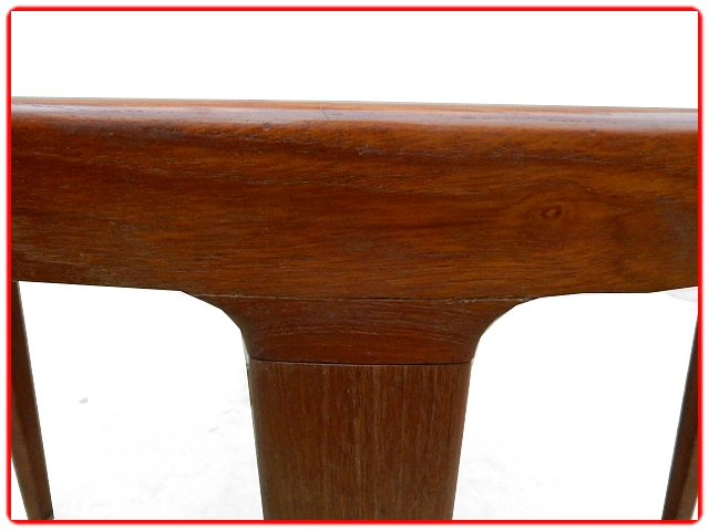 Table scandinave en teck 1960