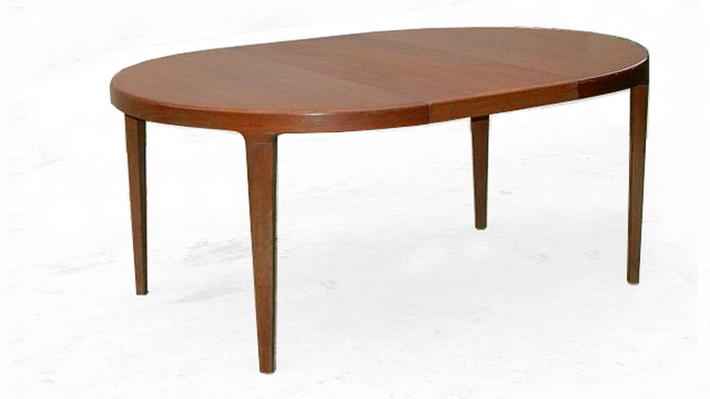 Table à manger scandinave teck 1960