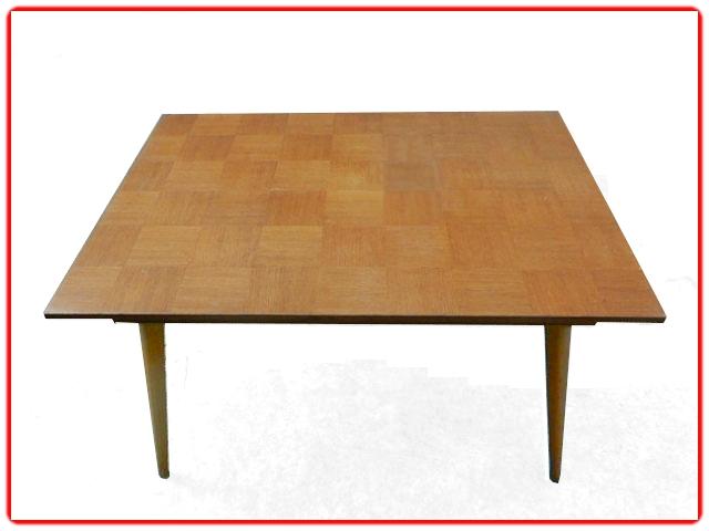Table vintage 1960 pieds compas
