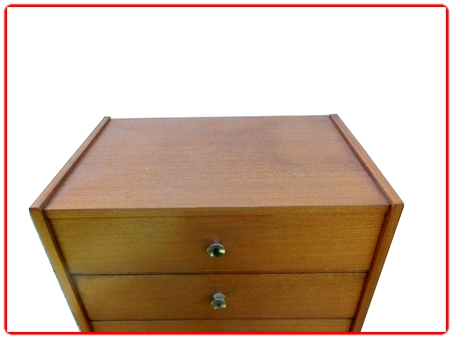 chiffonnier commode vintage 1970