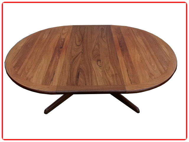 Table à manger scandinave en palissandre
