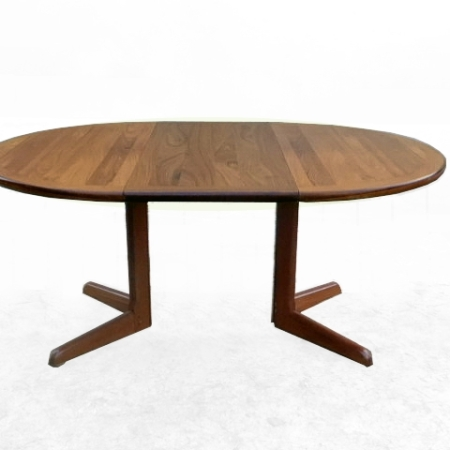Table à manger scandinave en palissandre 1970