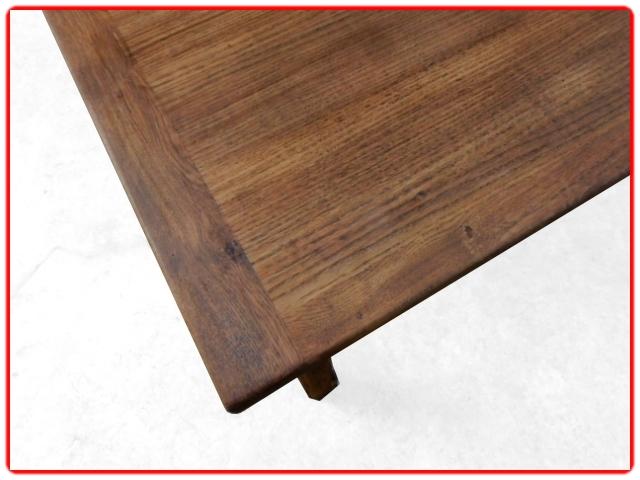 Table de ferme chêne moyen