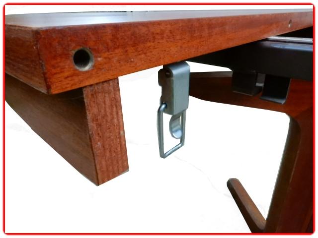 Table Baumann avec 2 rallonges