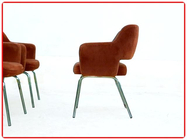 Fauteuils design conférence 1950