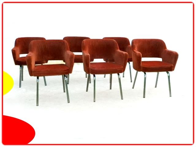 Fauteuils de conférence design 1950