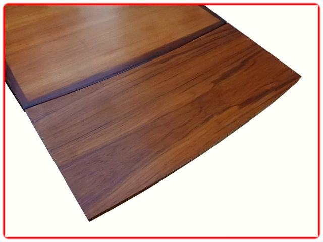 Table scandinave teck extensible