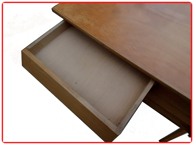 Bureau vintage bois massi