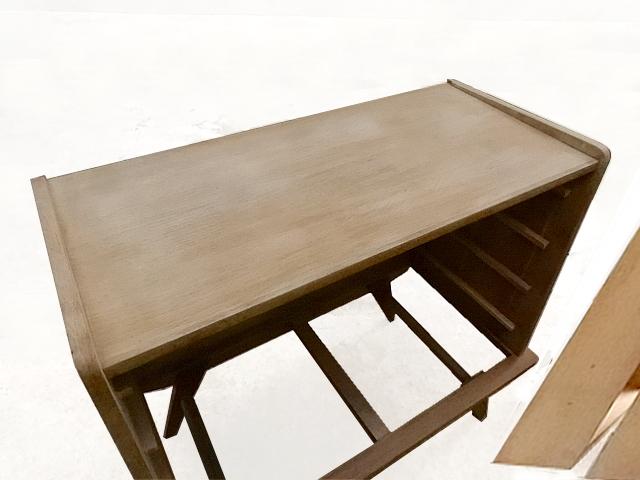 Rénovation commode vintage bois et placage
