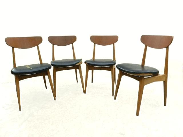 Rénovation de chaises vintage scandinave années 1960
