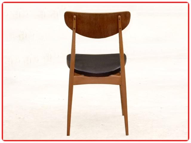 Chaises rénovées design scandinave