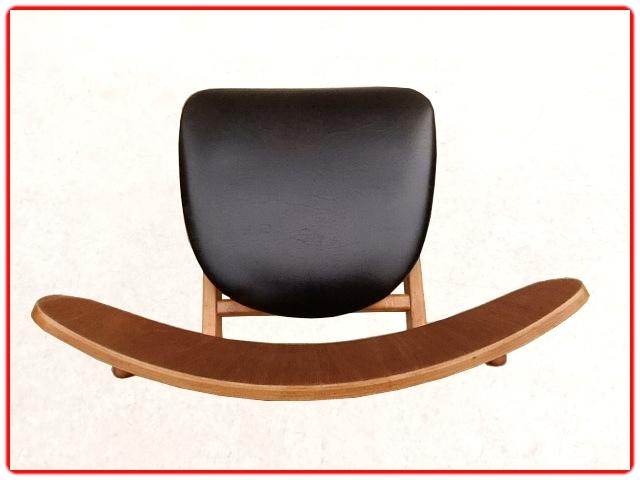 Chaises scandinave vintage 1960 teck rénovées