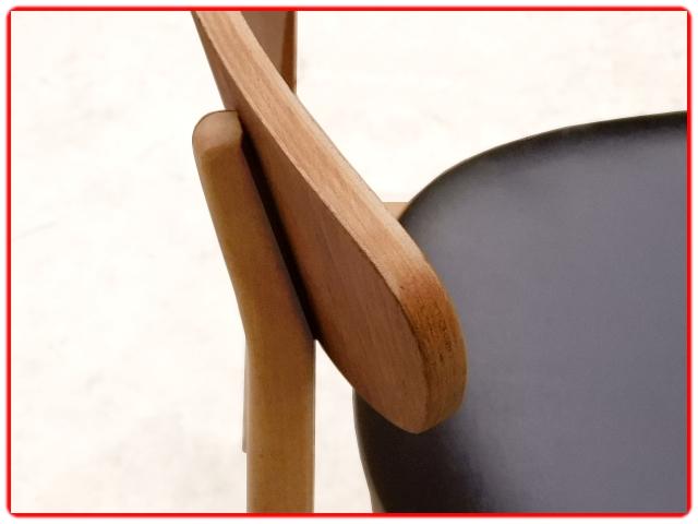 Chaises design scaninave teck rénovées