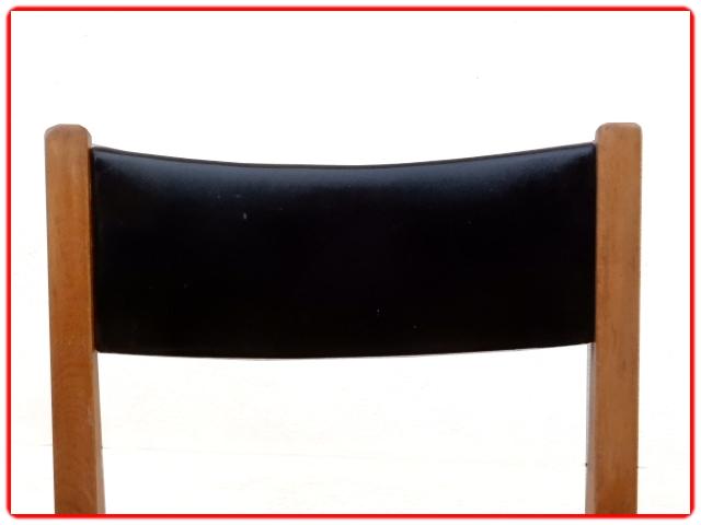 6 chaises de salle à manger vintage 1960