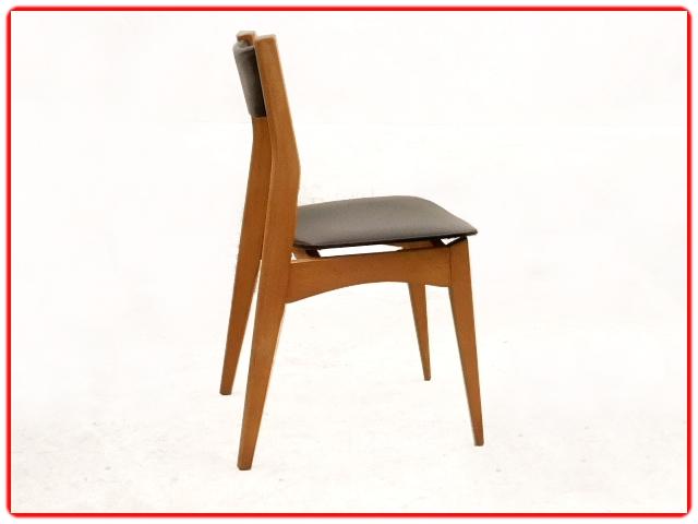 6 chaises vintage scandinave