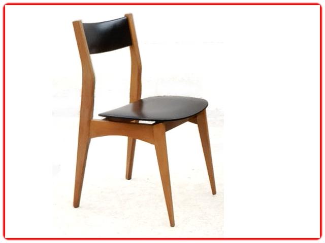 Chaises de salle à manger vintage scandinave