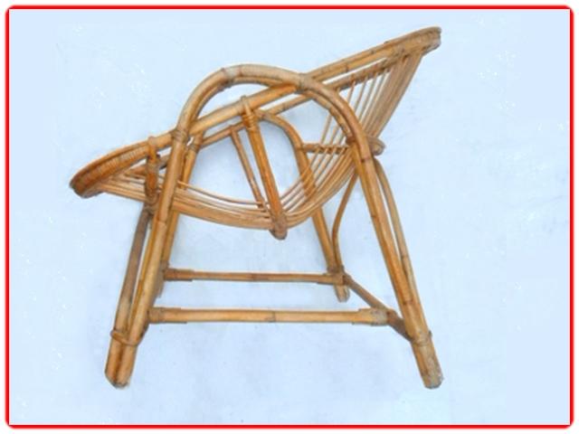 Paire de fauteuil en rotin vintage