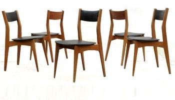 Chaises vintage scandinave