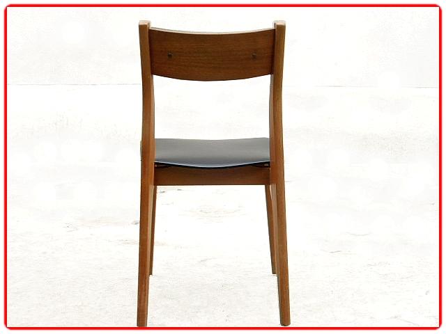 Chaises anciennes rénovées vintage scandinave