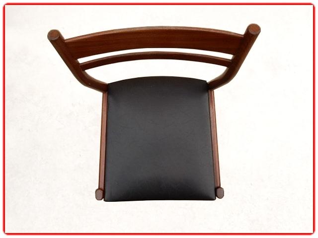 chaises palissandre scandinave