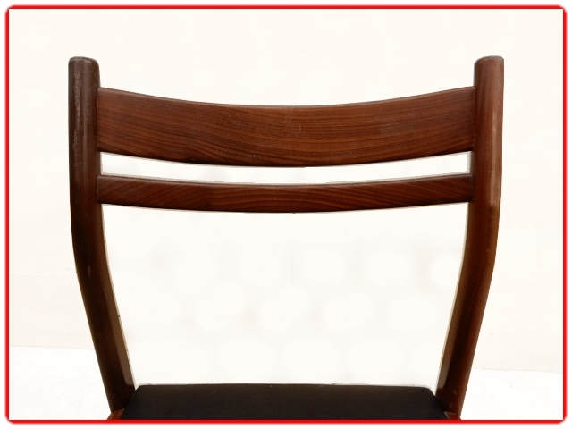 chaises scandinave 1960 palissandre