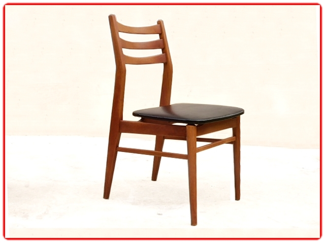 Chaises vintage rénovées 1960