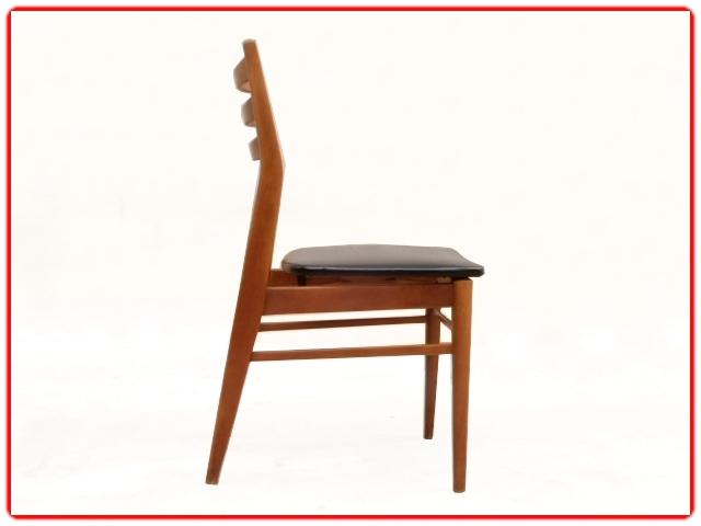 Chaises rénovées scandinave vintage 1960