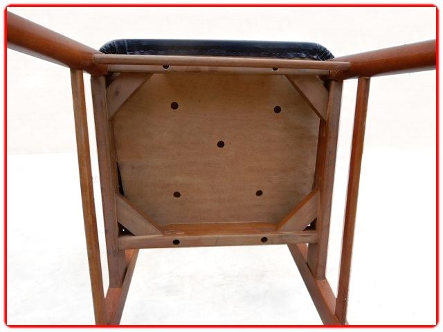 4 chaises vintage rénovées