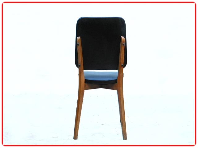 Chaises vintage 1950 hêtre clair