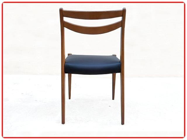 Chaises rénovées scandinave vintage