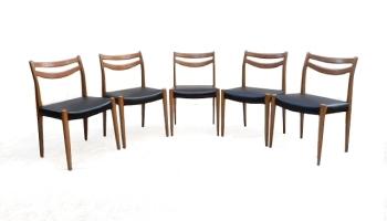 Chaises scandinave vintage 1960 rénovées